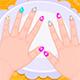 Красочный маникюр для девочки