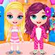 Пижамная вечеринка двух подружек