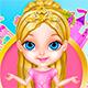 Одевалка девочки принцессы