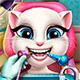 Зубной врач для говорящей кошки Анжелы