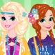 Весенняя одевалка Эльзы и Анны