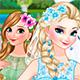 Холодное Сердце: Одевалка невесты Эльзы и подружки невесты Анны