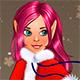 Новогодняя одевалка для девушки эльфа