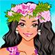 Одевалка в гавайском стиле - танцовщица Хула Хула