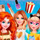 Уютные посиделки Барби, Эльзы и Мериды