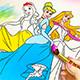 Раскраски с принцессами Дисней