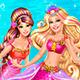 Барби коронация принцессы русалочки