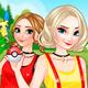 Анна и Эльза ловят покемонов - одевалка